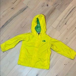 4T North Face HyVent Rain Coat